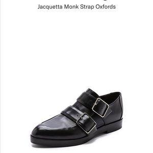 ALEXANDER WANG   Jacquetta Monk strap oxfords